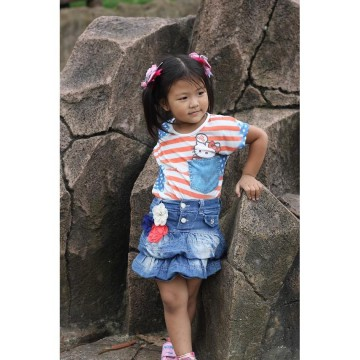 Clearance Sale Tshirt kaos Spandex anak Hello Kitty
