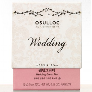 OSULLOC Wedding Green tea 10ea x 2box