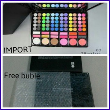 #Set & Palette Makeup MAC PELETTE 78 COLOR NO 3