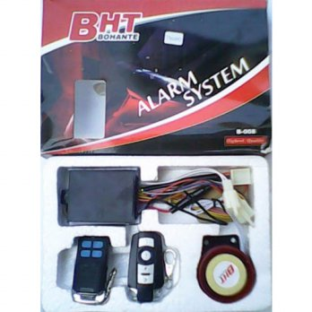 Alarm Motor + Remote BHT (Security System)