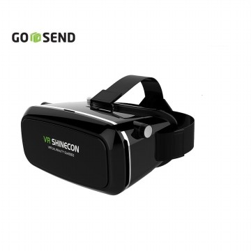 VR Box Shinecon Virtual Reality 3D Glasses - Black