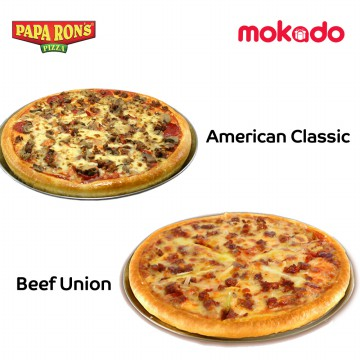 [BUY 1 GET 1] PAPA RON'S PIZZA: PAPA'S PIZZA ( L )  LARGE
