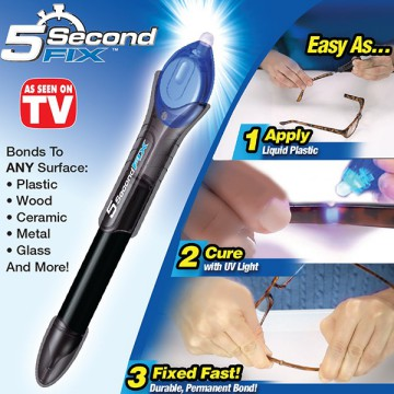 Power Tool 5 Second Fix Magic Glue / Lem  Ajaib Sinar UV