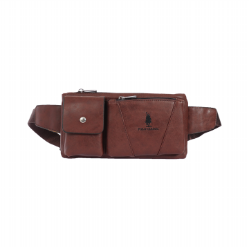 Polo Classic Waist Bag A32-2-19 Dark Brown