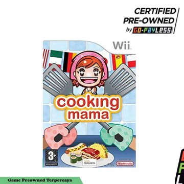 Cooking Mama Nintendo Wii Game Original (Preowned)