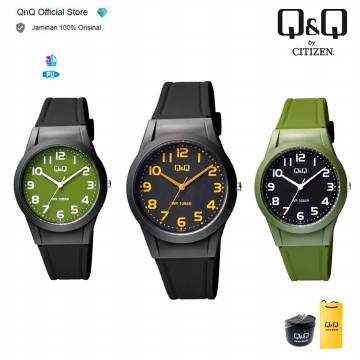 Q&Q QnQ QQ Original Jam Tangan Wanita Analog Fashion - VQ50 VQ50J Water Resist