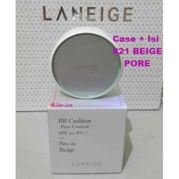 Laneige BB Cushion Pore Control SPF 50+ PA+++ CASE+ISI