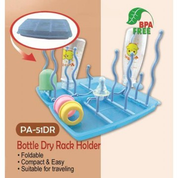 Pumpee Drying Rack Foldable - Rak pengering botol lipat
