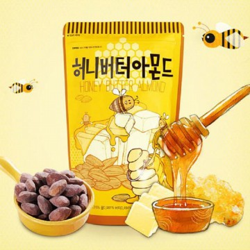 HONEY BUTTER ALMOND 250G X 3EA (Free Delivery)
