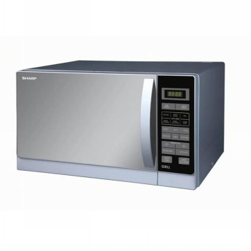 Sharp Microwave Oven R-728(S)-IN - Silver (Free Ongkir Jabodetabek)