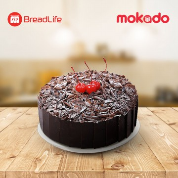 Black Forest Cake (Whole Cake) / BreadLife (Harap Order H-7 ke Store yang dituju)