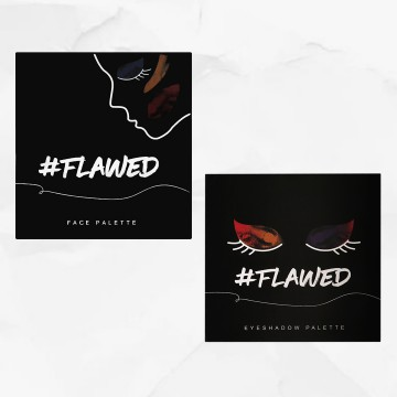 #Flawed Face + Eyeshadow Palette Bundle