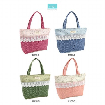 KOREAN STYLE ★ [#1801] Canvas Medium Tote Bag/Tas kanvas/Tas tenteng/Tas samping