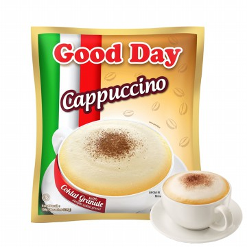 Kopi Good Day Cappuccino Bag 30 Sachet