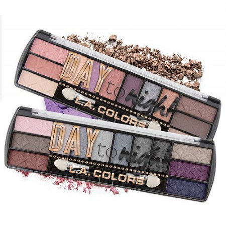 [SALE BUY 1 GET 1 FREE] LA COLORS DAY TO NIGHT EYESHADOW