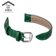 22mm Bamboo COLOR Tali Jam Kulit Leather Buckle Watch Band Strap