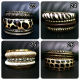 Bangle Gelang Fashion Import Korea Leopard Pesta Silver Emas Dior SJ0045