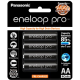Panasonic Eneloop Pro AA/A2 2550mAh 500x charge (1 pack isi 4) Made In Japan
