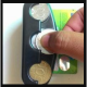 Tempat Uang Koin - Coin & Toll Card Holder Di Mobil - Coin Holder