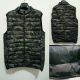 Jaket Pull & Bear Puffer Quilted Camouflage Vest Origin