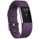 Fitbit Charge 2 Heart Rate GPS Fitness Wristband Smartwatch Purple Small