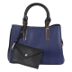 Bellezza Handbag 17434-38 Blue