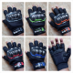 Sarung Tangan MONSTER Racing Energy Half Finger Warna Orange