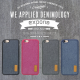 Case DENIM iPhone 7 7G 4.7 inchi Soft Jacket Jeans EXPORIA ORI 100%
