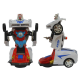 Mobil Robot Police BO 2 in 1 - Mainan Mobil Robot Anak - Ages 3+
