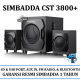 Promo Speaker Aktif Simbadda CST 3800+ Includes USB Port,Radio,Blutooth