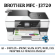 Promo Printer Brother MFC-J3720 A3 Wireless Multi-Function Duplex Dual Tray