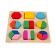 Puzzle Kayu Geometri - Mainan Anak Wooden Puzzle 3D - Ages 3+