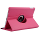 360 ROTATE HORIZONTAL/VERTICAL SMART CASE FOR  IPAD AIR 9.7 - PINK