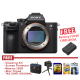 Sony Alpha a7R III (Body Only) - HITAM - FREE ACCESSORIES