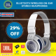 JBL Synchros S400BT+ Wireless Stereo Touch Control Headphones