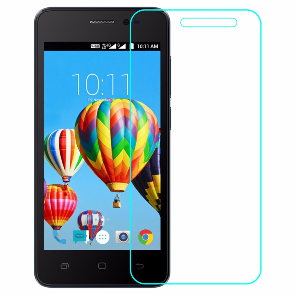 Anti Gores Kaca Tempered Glass Smartfren Andromax L Clear Bening High Quality