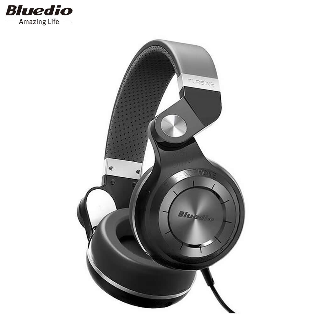 Bluedio Bluetooth Wireless Plus Ufo Itu Di Ear Headphone Dengan T2 Wh Original Wired Headset Hitam