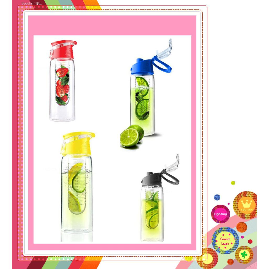 Botol Tritan 2 Generation Infused Water Bottle With Fruit Infuser Bpa Free New Infusd