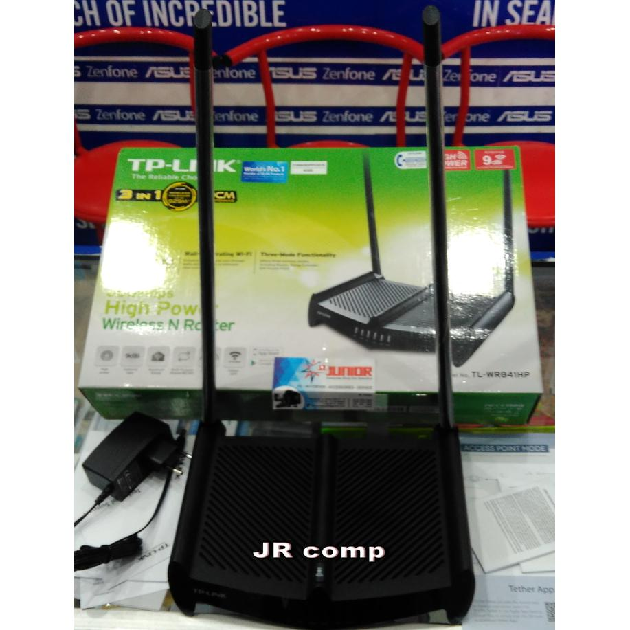 Tp Link 450mbps High Power Wireless N Router Tl Wr941hp Hitam Wr841hp 300mbps