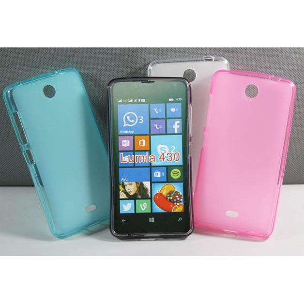 Lumia 430 Softcase Casing Soft Cover / Case