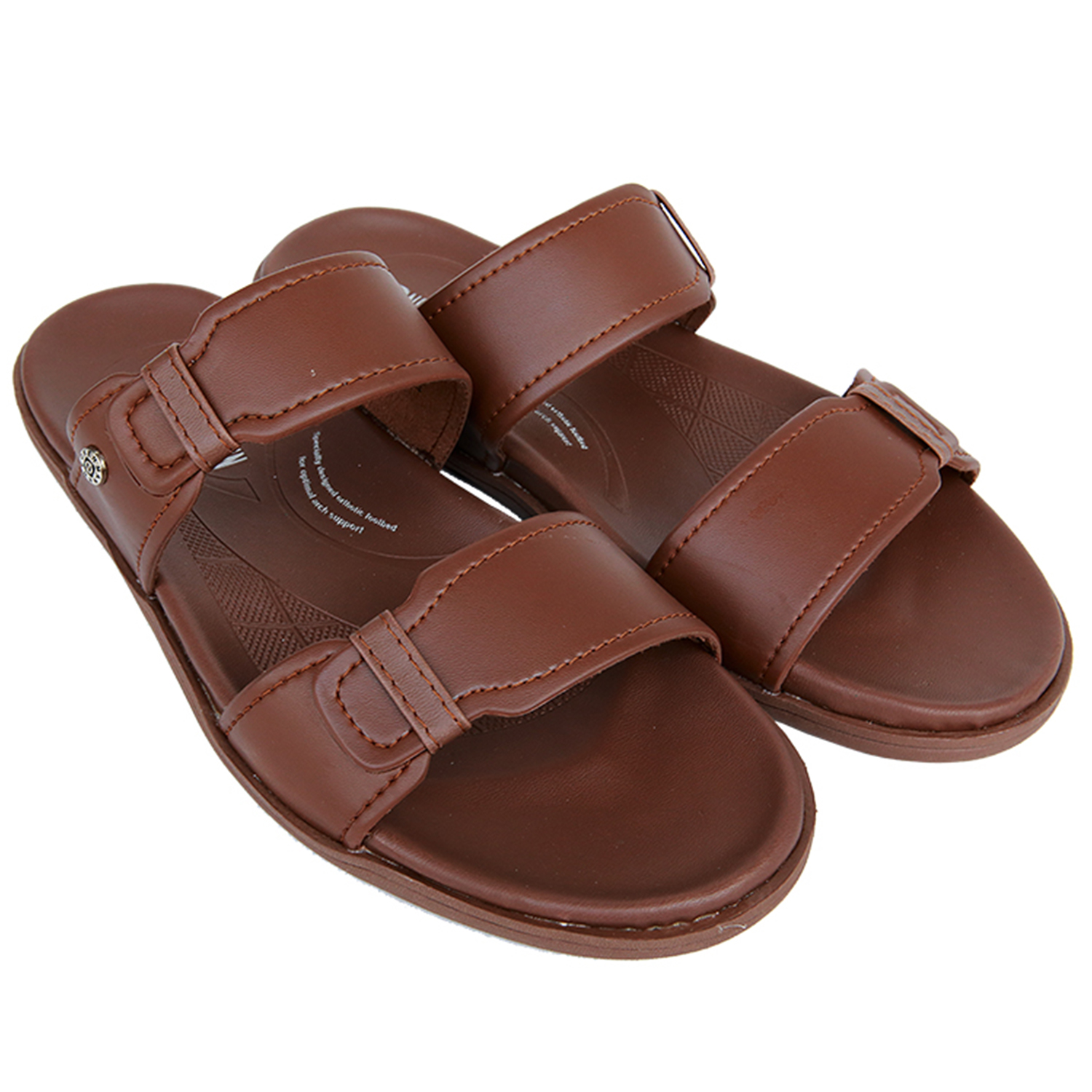 Neckermann Sandal Pria Concord 312 Light Brown | elevenia