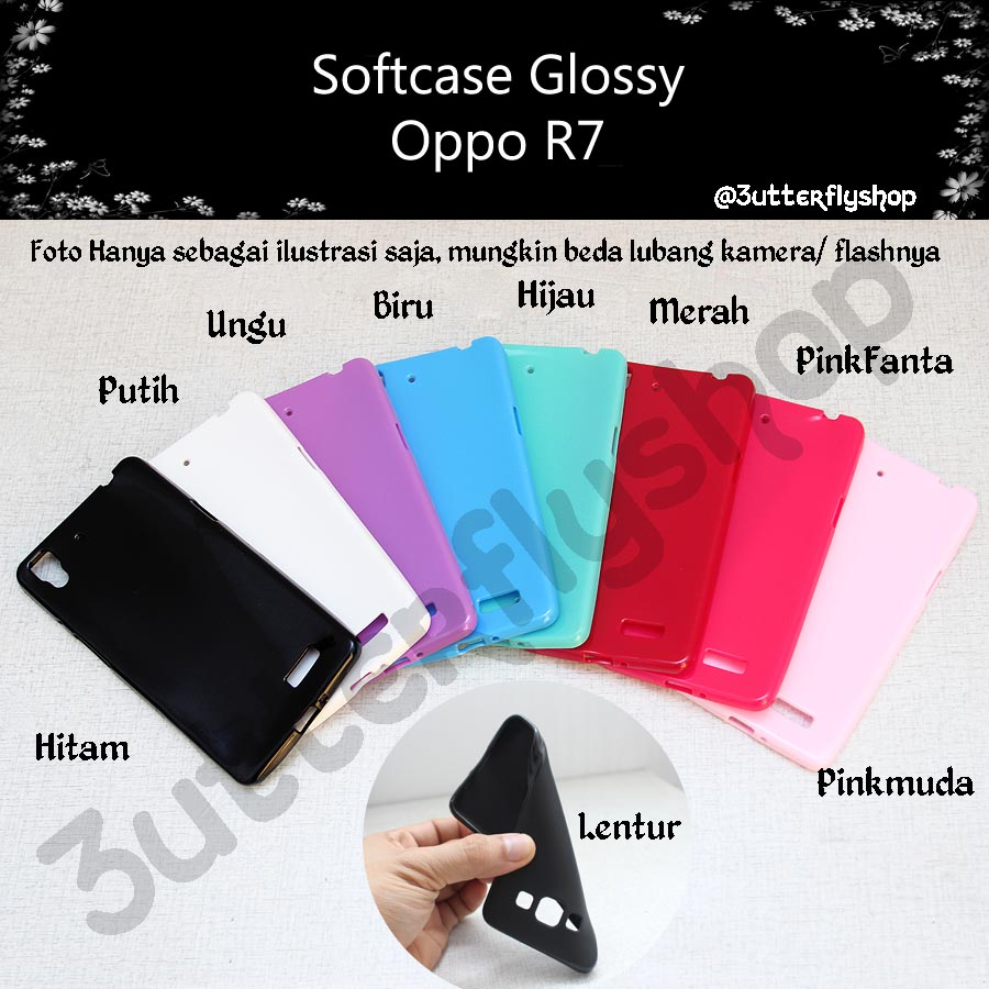 Glossy Softcase Oppo R7 Elevenia Tangga Aluminium Krisbow Step Ladder 5 13m Kw0101835