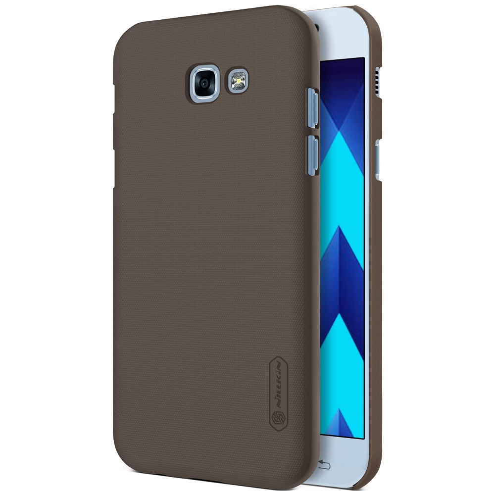 Nillkin Frosted Shield Samsung Galaxy A5 2017 (A520F) - Coklat + .