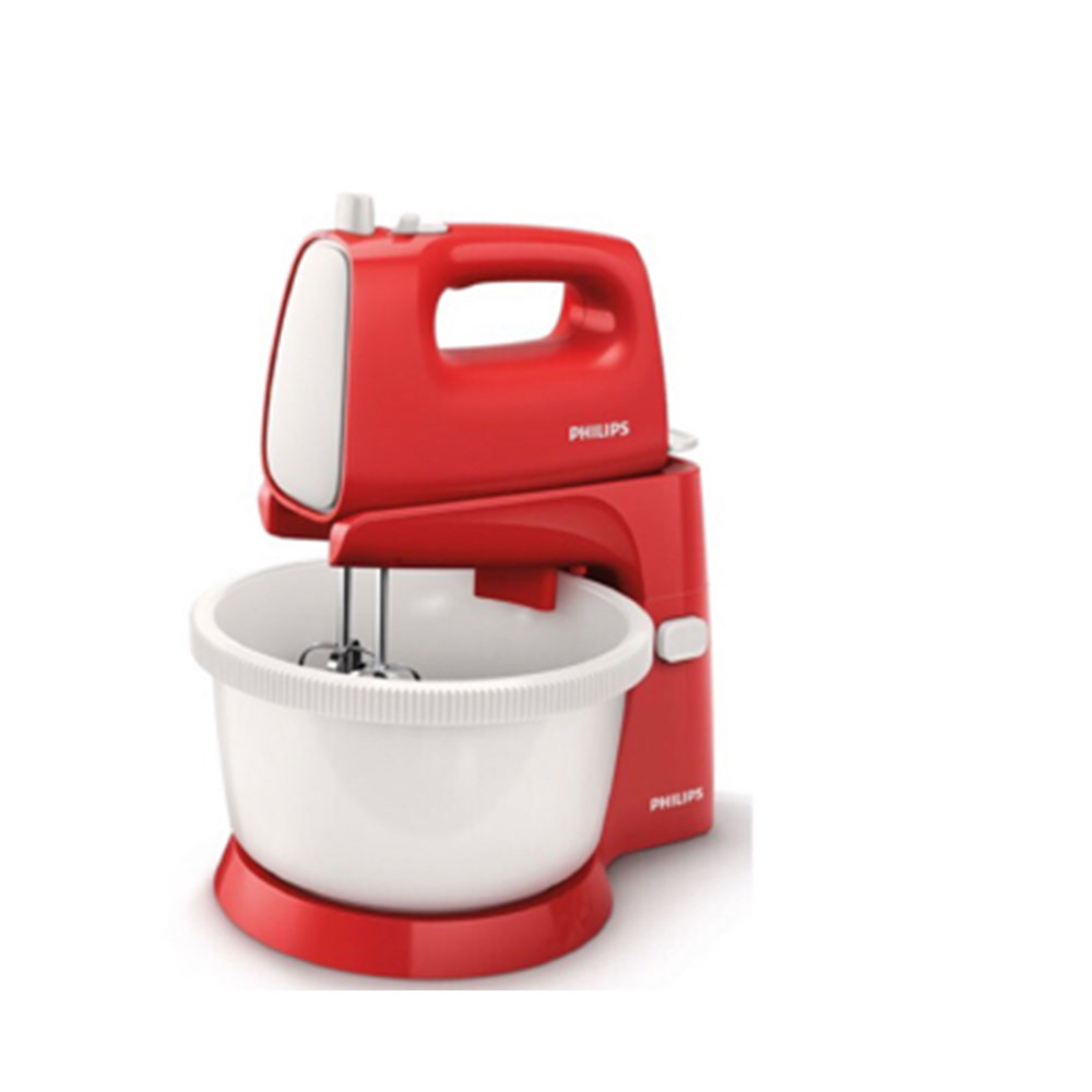 philips new stand mixer hr1559 putih merah elevenia. Black Bedroom Furniture Sets. Home Design Ideas