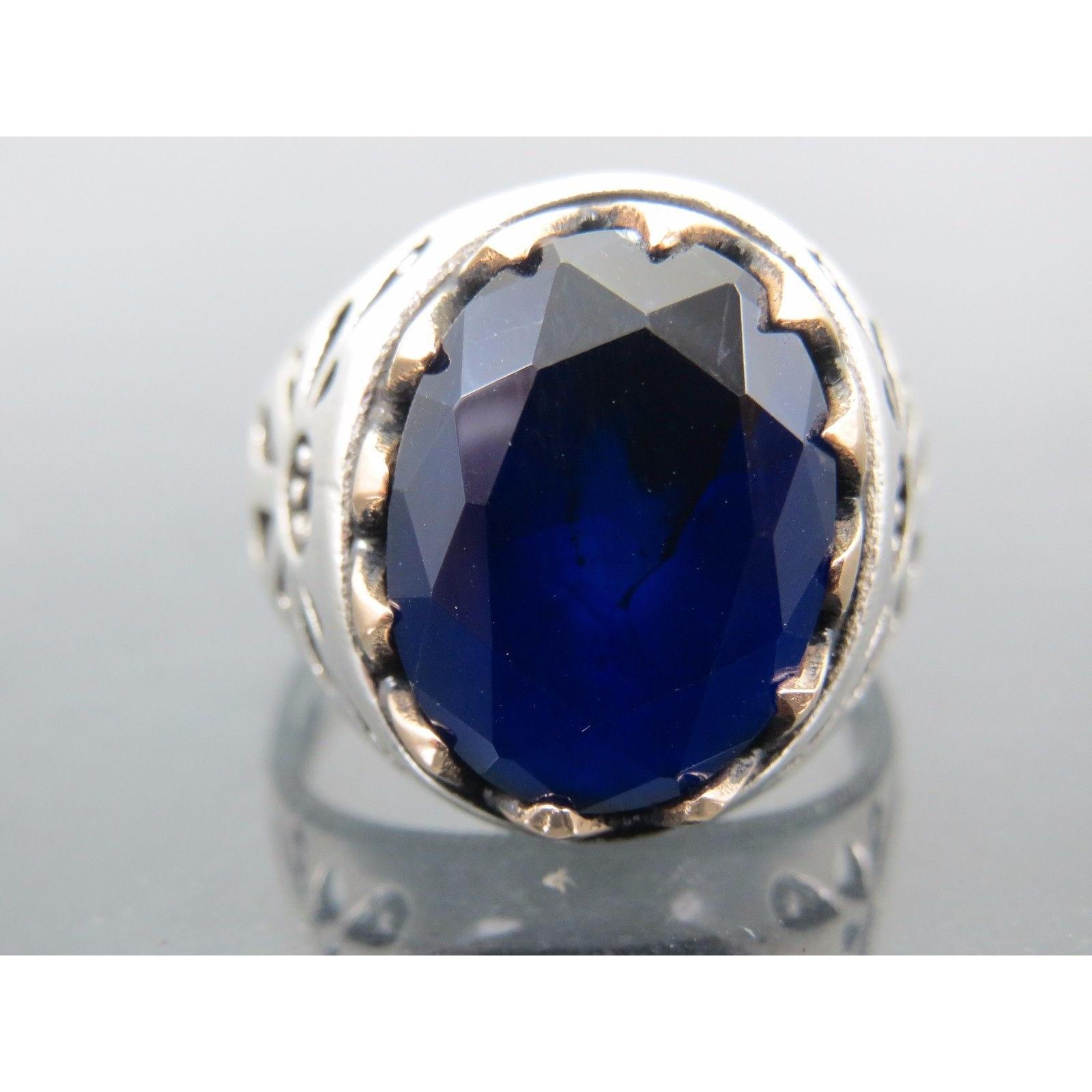 at gold in real ring sapphire diamond tradition blue gems and rings sears white set diamonds