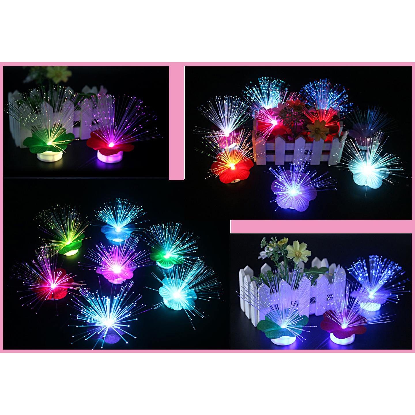 Rumput Bunga Led Lampu Hias Mini 7 Warna Light Lamp Cahaya Aksesoris Assesoris Hp U Sj0019