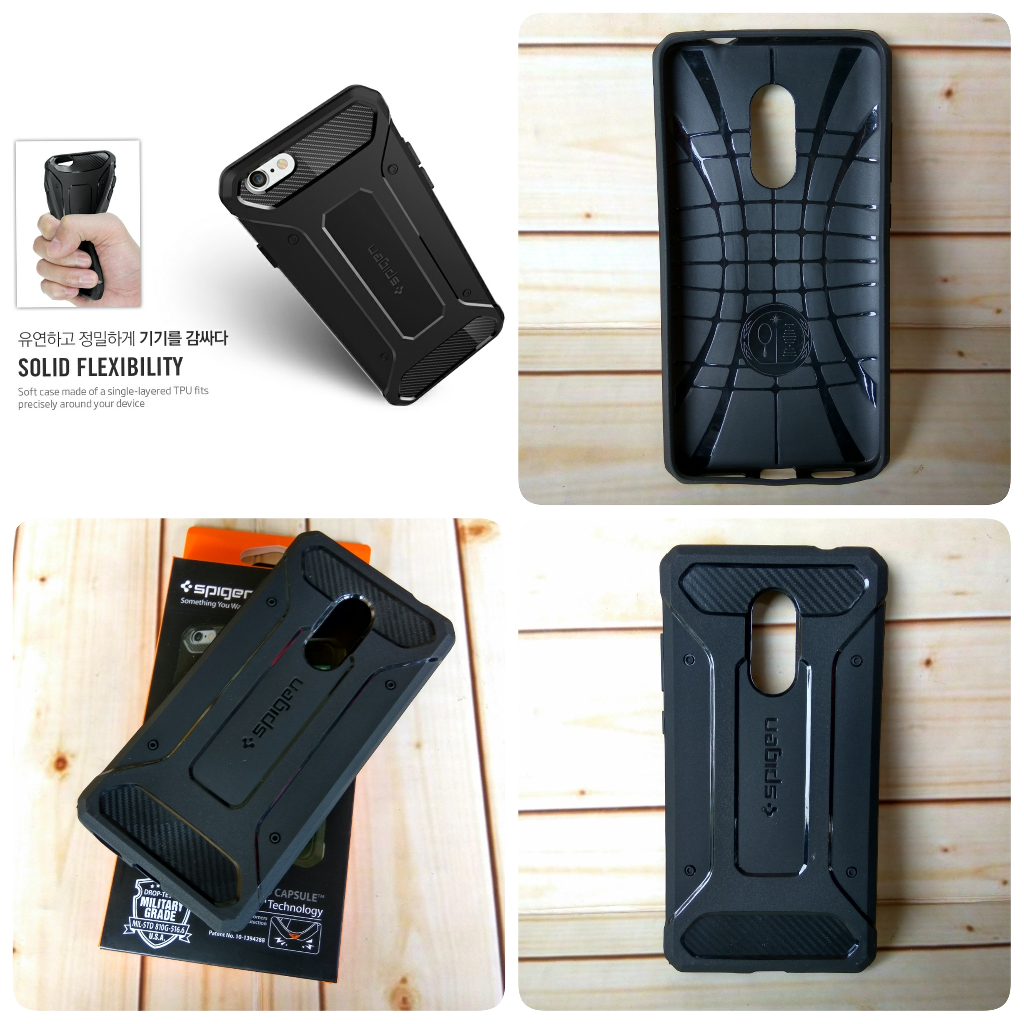 innovative design 3f86f bdc58 Sa Case Spigen Rugged Capsule Armor Xiaomi Redmi Note 4 Pro / Prime