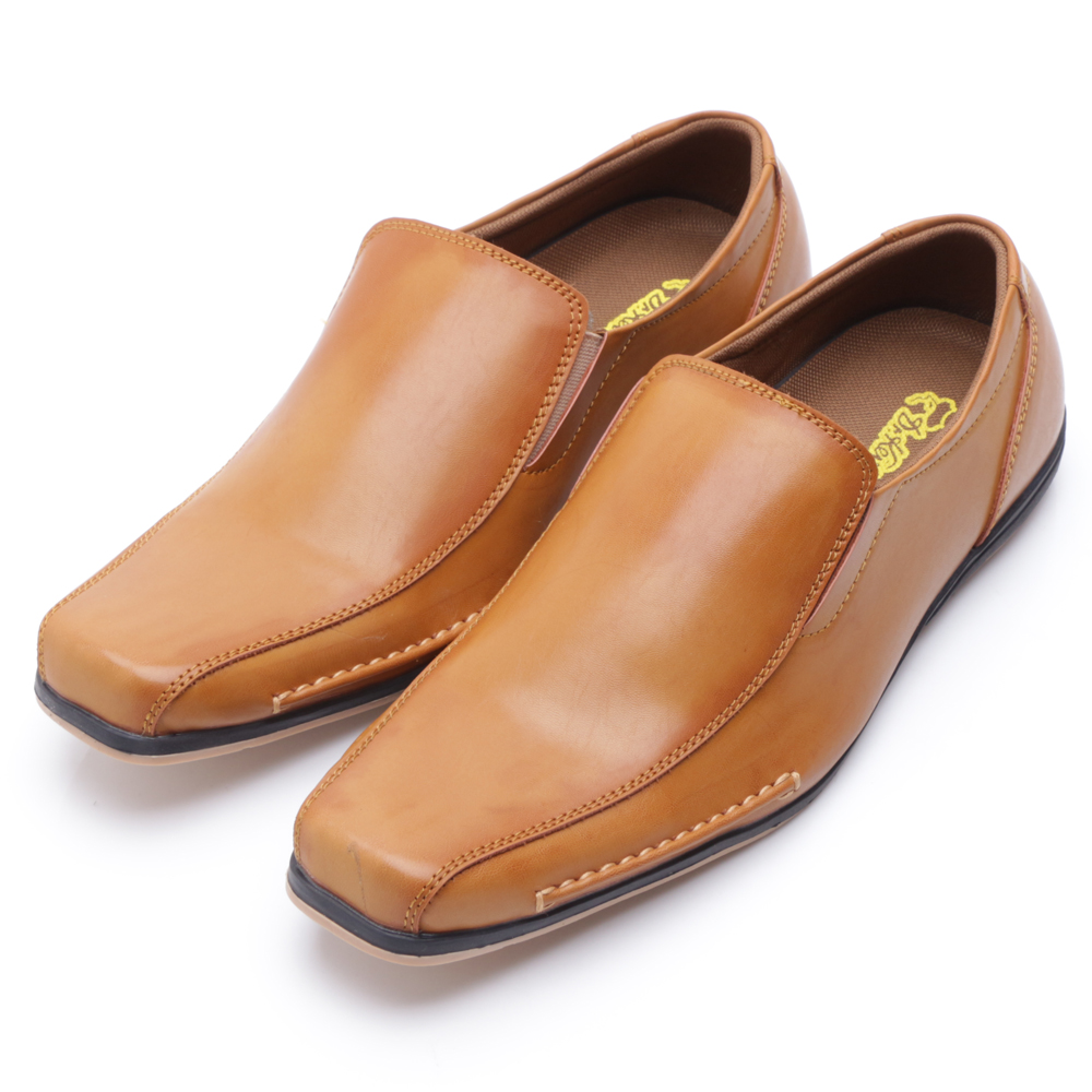 Dr Kevin Leather Shoes 13140 Tan Daftar Harga Terkini Termurah Men Sandals 9615 Cokelat Muda 41 Drkevin 13218