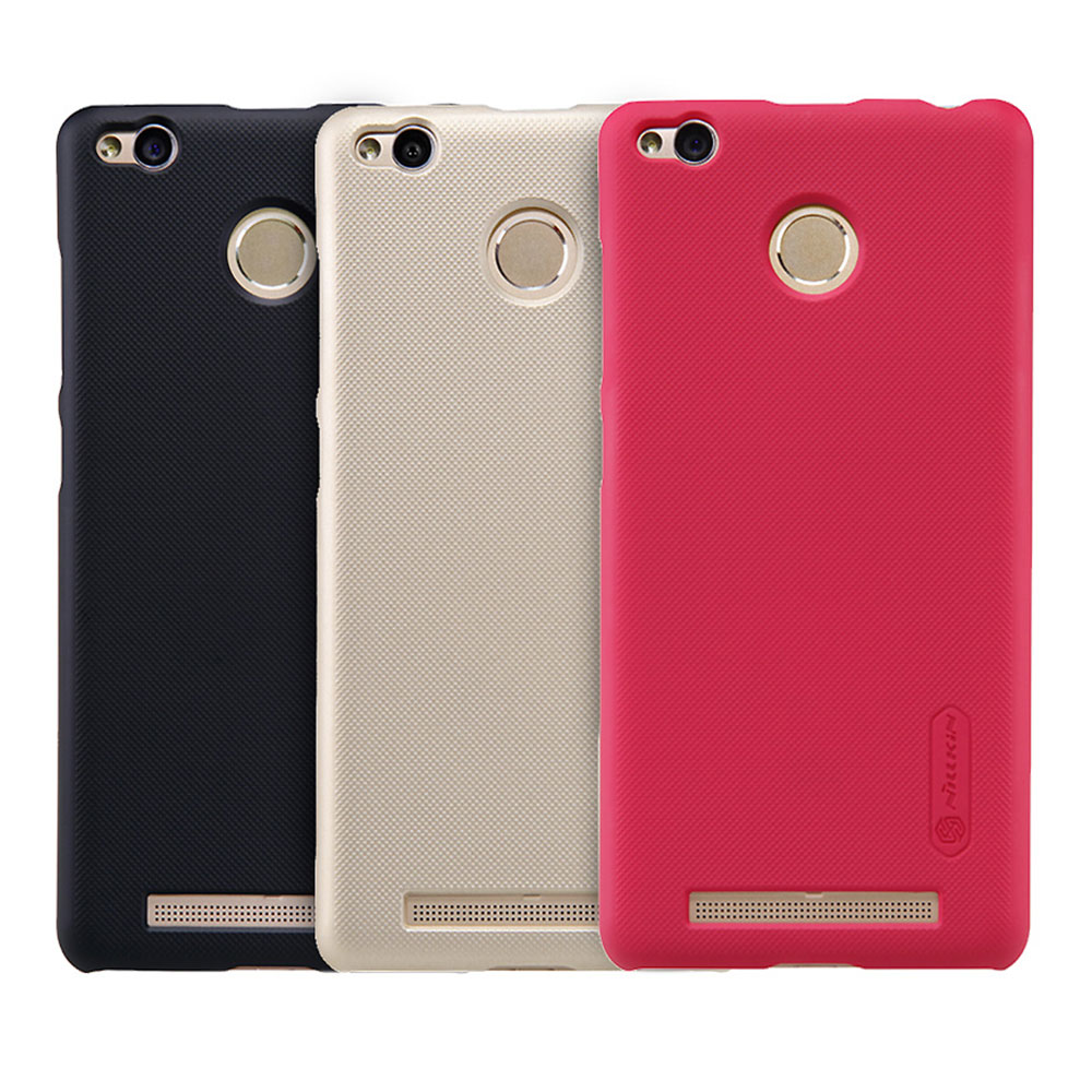 huge selection of a437a bfb93 Nillkin Frosted Hard Case Xiaomi Redmi 3 Pro / 3s / 3s Prime