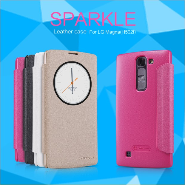NILLKIN Sparkle Leather Case LG Magna H502F